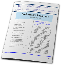 image of Professional Regulation cover